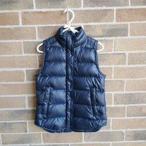 J Crew Puffy Full Zip Vest
